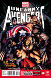 Cover for Uncanny Avengers (Marvel, 2012 series) #1 [Detroit Fanfare Exclusive Variant Cover by Ryan Stegman]
