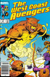 Cover Thumbnail for West Coast Avengers (1985 series) #6 [Newsstand]