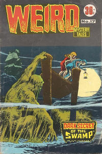 Cover Thumbnail for Weird Mystery Tales (K. G. Murray, 1972 series) #17