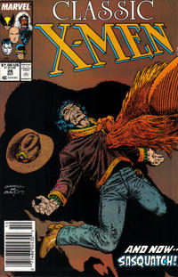 Cover Thumbnail for Classic X-Men (Marvel, 1986 series) #26 [Newsstand Edition]