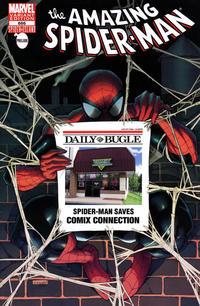 Cover Thumbnail for The Amazing Spider-Man (Marvel, 1999 series) #666 [Comix Connection Exclusive Bugle Variant Cover]