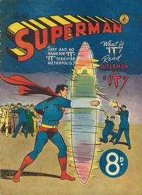 Cover Thumbnail for Superman (K. G. Murray, 1947 series) #61