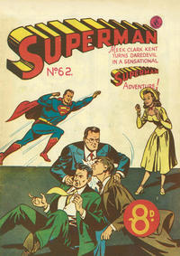 Cover Thumbnail for Superman (K. G. Murray, 1947 series) #62