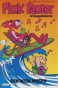 Cover Thumbnail for Pink Panter (Semic, 1977 series) #1/1983