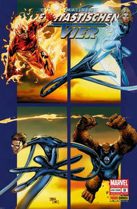 Cover Thumbnail for Die Ultimativen Fantastischen Vier (Panini Deutschland, 2007 series) #8