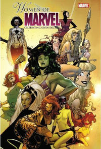 Cover Thumbnail for Women of Marvel: Celebrating Seven Decades Omnibus (Marvel, 2010 series)  [Olivier Coipel Cover]
