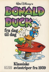 Cover Thumbnail for Donald Duck Fra Dag Til Dag (Hjemmet / Egmont, 1987 series) #2