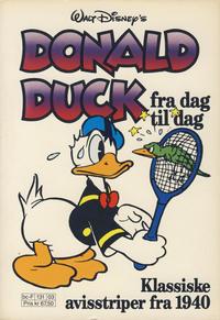 Cover Thumbnail for Donald Duck Fra Dag Til Dag (Hjemmet / Egmont, 1987 series) #3