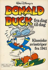 Cover Thumbnail for Donald Duck Fra Dag Til Dag (Hjemmet / Egmont, 1987 series) #4
