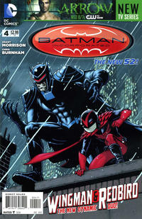Cover for Batman Incorporated (DC, 2012 series) #4