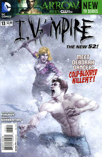Cover Thumbnail for I, Vampire (DC, 2011 series) #13