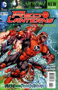 Cover Thumbnail for Red Lanterns (DC, 2011 series) #13
