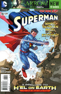 Cover Thumbnail for Superman (DC, 2011 series) #13 [Direct Sales]
