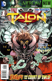 Cover Thumbnail for Talon (DC, 2012 series) #1 [Guillem March Cover]