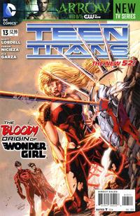 Cover Thumbnail for Teen Titans (DC, 2011 series) #13 [Brett Booth Cover]