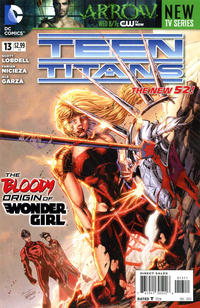 Cover Thumbnail for Teen Titans (DC, 2011 series) #13 [Direct Sales]