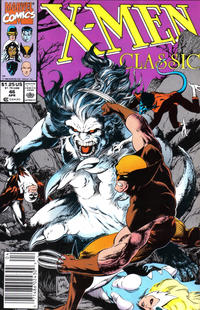 Cover Thumbnail for X-Men Classic (Marvel, 1990 series) #46 [Newsstand]