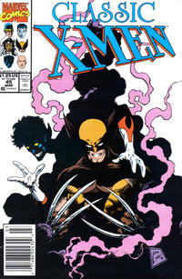 Cover for Classic X-Men (Marvel, 1986 series) #45 [Direct Edition]
