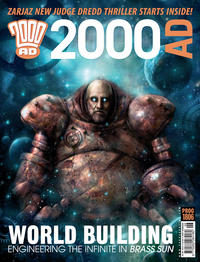 Cover Thumbnail for 2000 AD (Rebellion, 2001 series) #1806