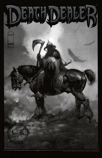 Cover Thumbnail for Frank Frazetta's Death Dealer (Image, 2007 series) #1 [Black & White Special Edition]