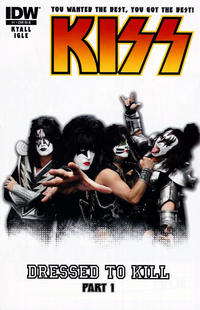 Cover Thumbnail for Kiss (IDW, 2012 series) #1 [Cover RI-B - Photo Variant]