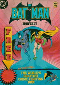 Cover Thumbnail for Batman Monthly (Egmont UK, 1988 series) #1