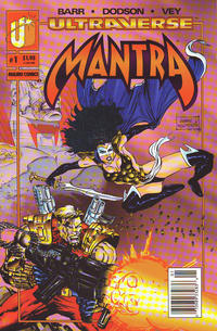 Cover Thumbnail for Mantra (Malibu, 1993 series) #1 [Newsstand]