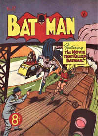 Cover Thumbnail for Batman (K. G. Murray, 1950 series) #37