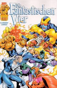 Cover Thumbnail for Die Fantastischen Vier (Panini Deutschland, 2001 series) #2