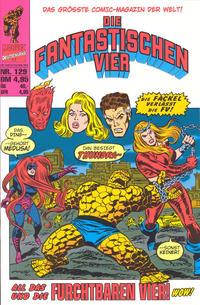 Cover Thumbnail for Die Fantastischen Vier (Panini Deutschland, 1999 series) #129