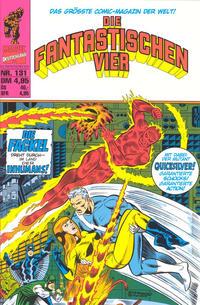 Cover Thumbnail for Die Fantastischen Vier (Panini Deutschland, 1999 series) #131