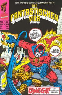 Cover Thumbnail for Die Fantastischen Vier (Panini Deutschland, 1999 series) #132