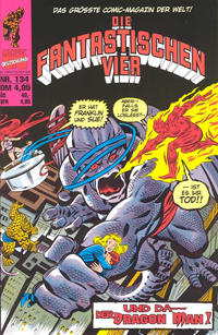 Cover Thumbnail for Die Fantastischen Vier (Panini Deutschland, 1999 series) #134