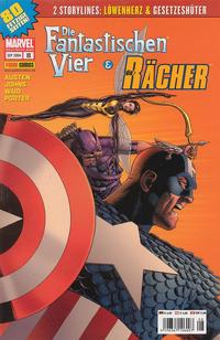 Cover Thumbnail for Die Fantastischen Vier & Die Rächer (Panini Deutschland, 2004 series) #8
