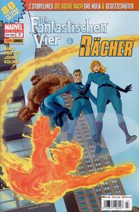 Cover Thumbnail for Die Fantastischen Vier & Die Rächer (Panini Deutschland, 2004 series) #7