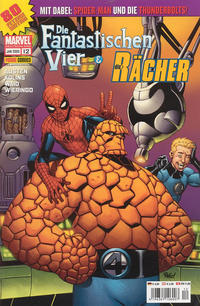 Cover Thumbnail for Die Fantastischen Vier & Die Rächer (Panini Deutschland, 2004 series) #12