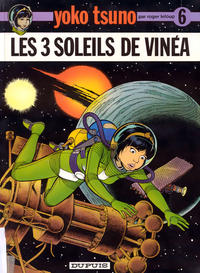 Cover Thumbnail for Yoko Tsuno (Dupuis, 1972 series) #6 - Les 3 soleils de Vinéa
