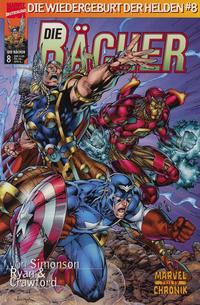 Cover Thumbnail for Die Rächer (Die Wiedergeburt der Helden) (Panini Deutschland, 1999 series) #8