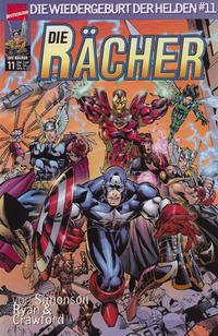 Cover Thumbnail for Die Rächer (Die Wiedergeburt der Helden) (Panini Deutschland, 1999 series) #11