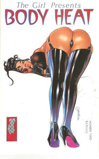 Cover Thumbnail for The Girl Presents Body Heat (Black Lace Studios, 1995 series) #2 [B]