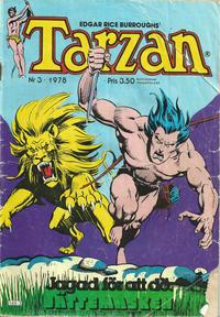 Cover Thumbnail for Tarzan (Atlantic Förlags AB, 1977 series) #3/1978