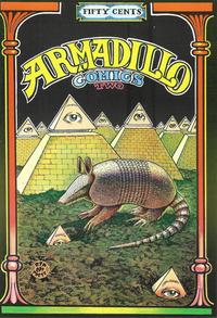 Cover Thumbnail for Armadillo Comics (Rip Off Press, 1971 series) #2