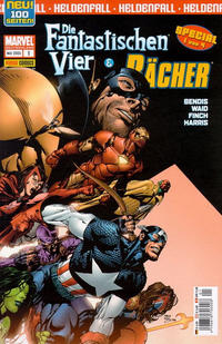 Cover Thumbnail for Die Fantastischen Vier & Die Rächer Special: Heldenfall (Panini Deutschland, 2005 series) #1