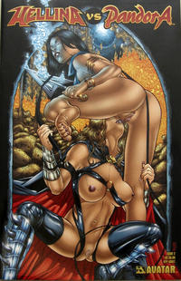 Cover Thumbnail for Hellina vs Pandora (Avatar Press, 2003 series) #2 [Ryp adult cover]