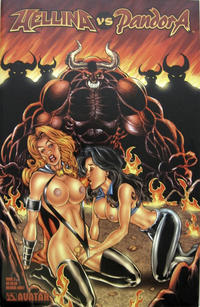 Cover Thumbnail for Hellina vs Pandora (Avatar Press, 2003 series) #2 [Hilinski adult cover]