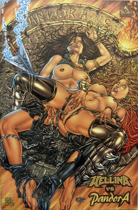 Cover Thumbnail for Hellina vs Pandora (Avatar Press, 2002 series) #3 [Ryp adult cover]