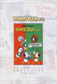 Cover Thumbnail for Donald Duck & Co De komplette årgangene (Hjemmet / Egmont, 1998 series) #[99] - 1969 del I