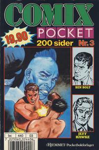 Cover Thumbnail for Comix pocket (Hjemmet / Egmont, 1990 series) #3