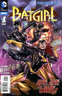 Cover Thumbnail for Batgirl Annual (DC, 2012 series) #1