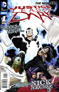 Cover Thumbnail for Justice League Dark Annual (DC, 2012 series) #1